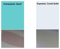 On-Demand-Color Liquid vs Solid